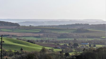 Expansive farmland views along the route. Photo: Simone Stanbrook-Byrne