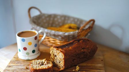 Banana bread and a cup of strong tea Photo: Jade Wright