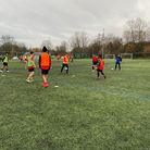 Abbey College Manchester students take to the field (image taken pre-lockdown)