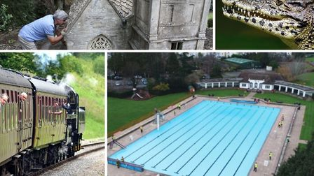 Unique days out in the Cotswolds (photos clockwise from top left: Bourton Model Village, simononly,