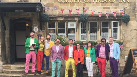 Cotswold beer cruisers at Corner Cupboard Inn, Winchcombe (photo: We Love British Pubs)