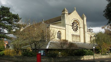 St Andrew's Church, on the corner of Northmoor Road and Linton Road. Tolkien lived in Northmoor Road
