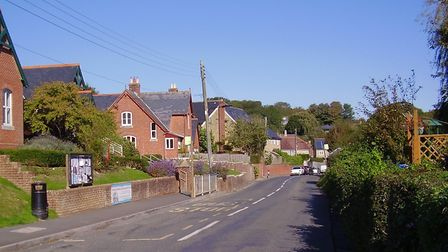 The village of Chillerton on the Isle of Wight is the final resting place of Olivia Manning (C) Stev