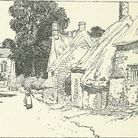 """South Newington in Oxfordshire, Cotswolds (c) """"Highways and byways in Oxford and the Cotswolds"""" with"""
