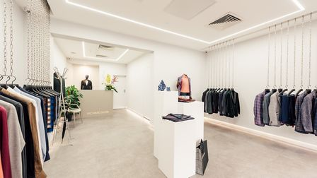The minimalist boutique offers an exclusive shopping experience. Photo: Contrast Creative