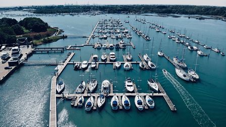 Universal Marina has now become a safe harbour for bluewater yachts – brought here after becoming st