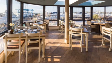 In The Haven, floor to ceiling windows capture the views across the marina
