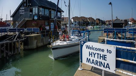 Hythe Marina Village was the first marina village to be built in the UK and features waterside homes