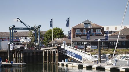 Shamrock Quay is a favourite for foodies with Bistro at Shamrock Quay, Yellow Welly café, and J & S