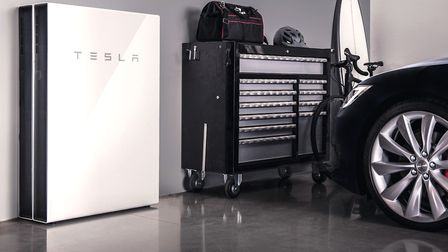 A Tesla power wall, one of which Thomas and Kunal will have in their new Sandbach home