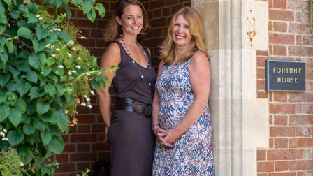 Mother and daughter duo Anna Hunter and Laura Walford run the successful Belgravia Gallery from its