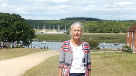 Mary was keen to put in new routes around Buckler's Hard to keep visitors safe credit Mary Montagu-S
