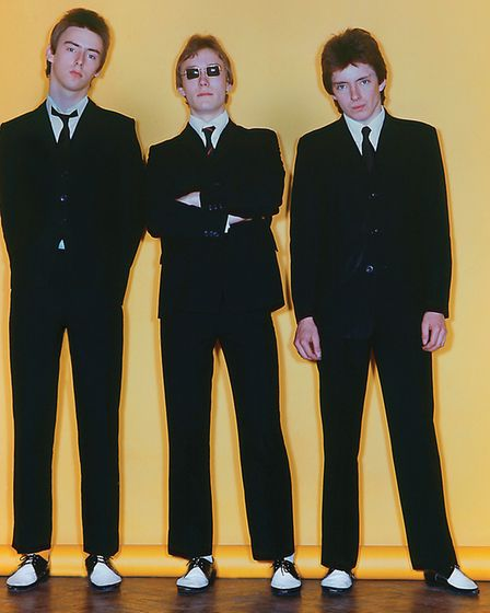 The Jam pictured in 1977 around the time of their debut album In The City. Photo: Martyn Goddard