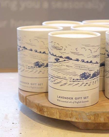Long Barn's 10th anniversary in 2019 was marked by new packaging depicting the Hampshire countryside
