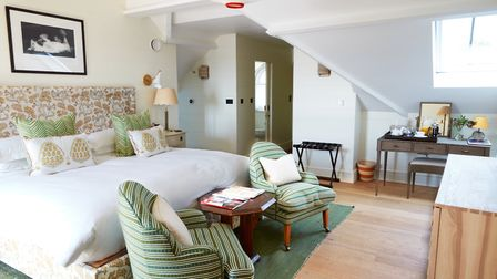The dog and kid-friendly Coach House suites