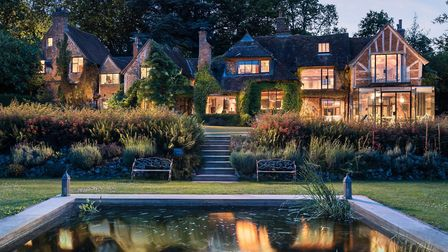 The luxury Rhapsody retreat in Haslemere. Image: Unique HomeStays