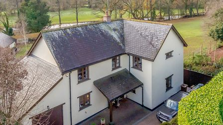 Lake View House, Yeoford. Guide £475,000. Photo: Strutt and Parker