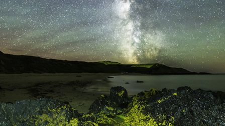 An iconic image showing airglow from the Llyn Collection Photo: Nigel A Ball