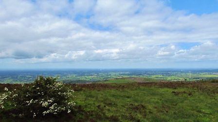 Blue skies and green fields from Croker Hill by Paul Taylor