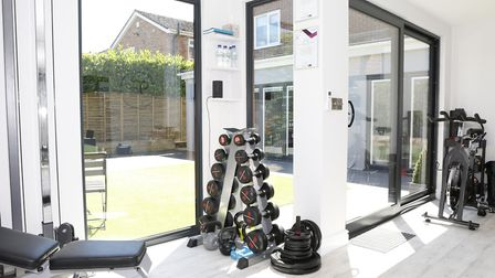 Transform your garden and your body with a workout gym space. Picture: Olympian Garden Buildings