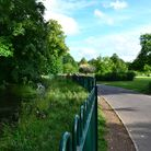 War Memorial Park is edged by two channels of the River Test credit Emma Caulton