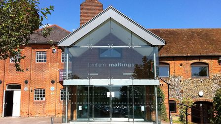 Farnham Maltings usually hosts a variety of arts and crafts events throughout the year. Image: Farnh