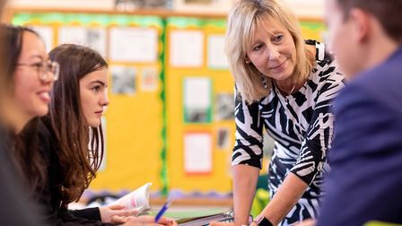 'It is key that every student in a school has someone they can talk to.' Picture: Kent College Cante