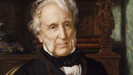 A painting of Stephen Lushington by William Holman Hunt. Image courtesy of National Portrait Gallery