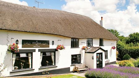 The Five Bells Inn is a quintessential thatched country pub. Photo: Ross Hayward