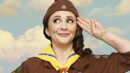 Comedian Lucy Porter will be at the drive-in Appledore Book Festival. Photo: no credit
