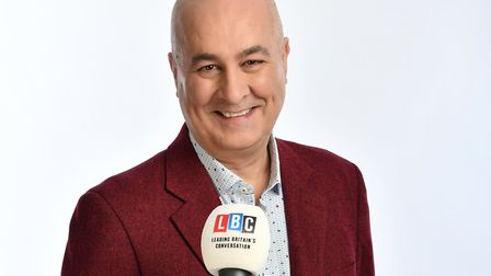 Broadcaster and political commentator Iain Dale will be at Appledore Book Festival. Photo: Steve Ull
