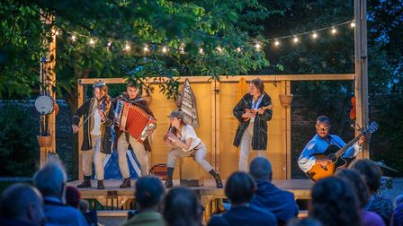 The Three Inch Fools will be performing A Midsummer Night's Dream at four Devon venues this summer.