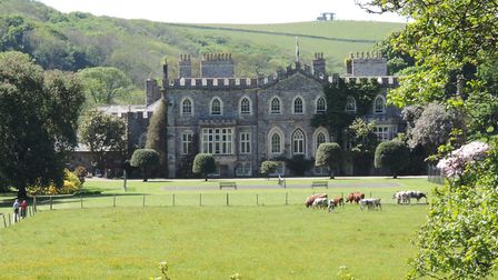 Beautiful Hartland Abbey will host live theatre this summer.