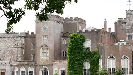 Historic Powderham Castle is the home of the Earl and Countess of Devon. Photo: Terry Ife