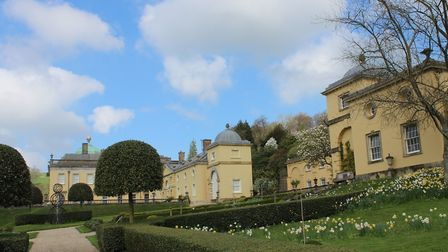 The Fortescue family has been at Castle Hill, Filleigh, for 15 generations. Photo: Gill Heavens