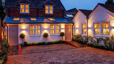 The Old Coach House, Guildford, £495,000 on the market with Savills