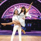Emma with Graziano di Prima at The Strictly Come Dancing Live Tour Photocall at Arena Birmingham ear