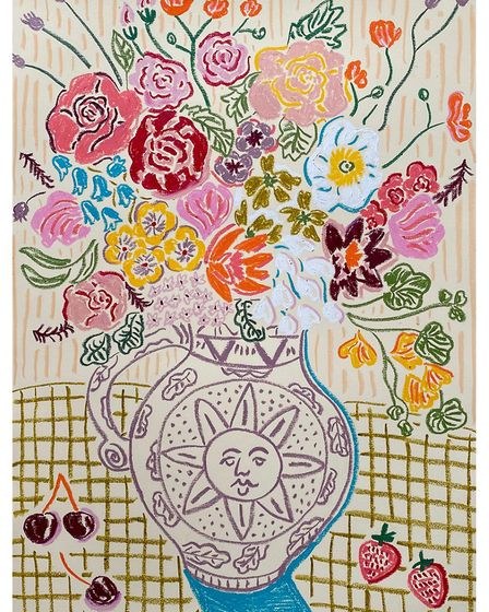 Flowers for the Solstice. Illustration by Camilla Perkins