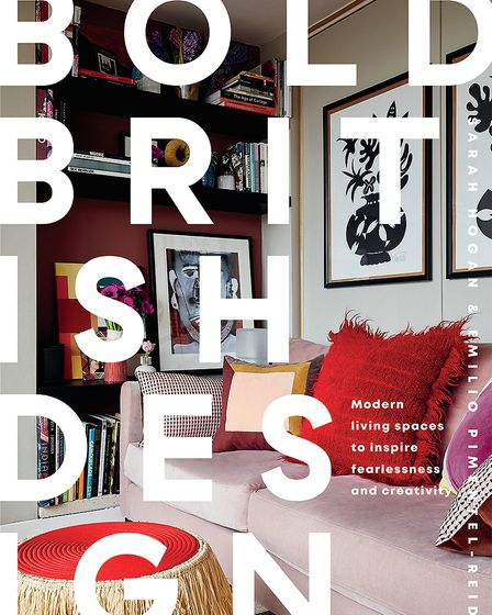 Camilla's home features in Bold British Design by Sarah Horgan and Emilio Pimentel-Reid, published b