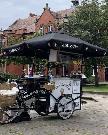 Grab an ice cream from Vitaliano's trike Photos: Jenny Schippers