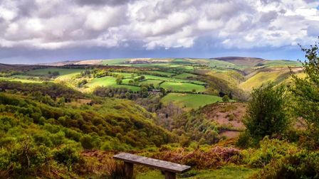 Leanne Coles'' photograph of Exmoor, which appears in the Society's new book Saving the Splendour, w