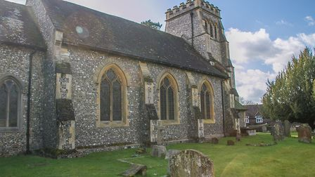St Lawrence Effingham Surrey, the resting place of Barnes Wallis Image: Getty/Maxim Dobres