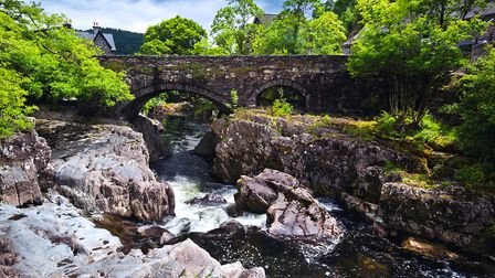 Pont-y-Pair Bridge and River Llugwy in Betws-y-Coed (c) Dark_Eni/Getty Images/iStockphoto