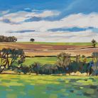 Across the Itchen Valley from Easton by Emma Lowres