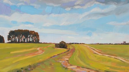 Towards South Wonston by Emma Lowres