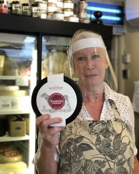 Jenny Grant from House of Cheese (photo: Tracy Spiers)