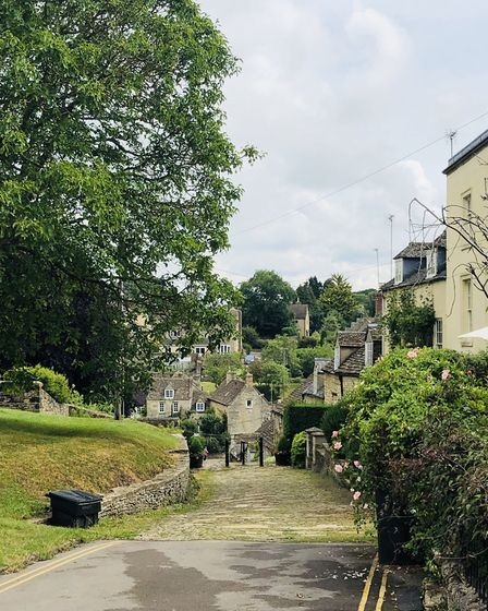The Chipping Steps, Tetbury (photo: Tracy Spiers)
