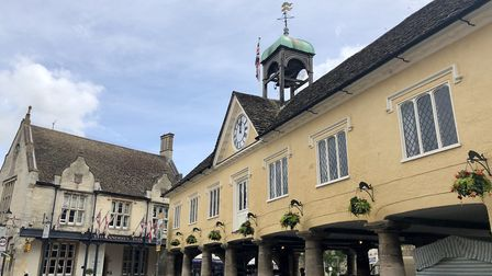 Market Place, Tetbury (photo: Tracy Spiers)