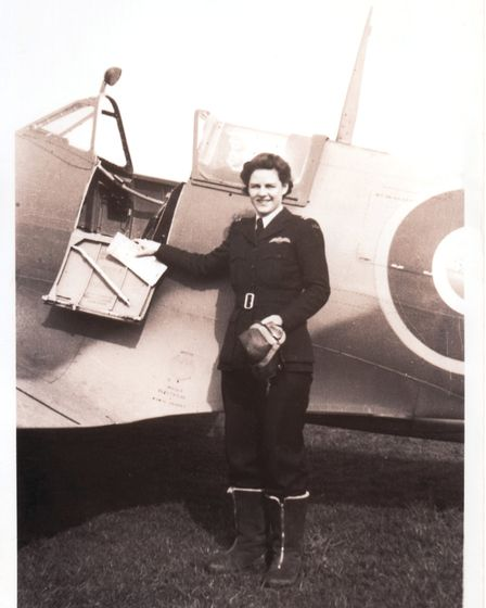 Nancy Miller was one of the Americans based at Hamble in 1943