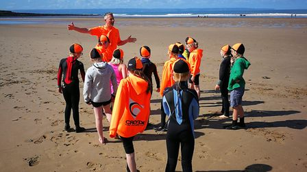 """Youngsters can join SLSCs as """"Nippers"""". Photo: Croyde Surf Life Saving Club"""